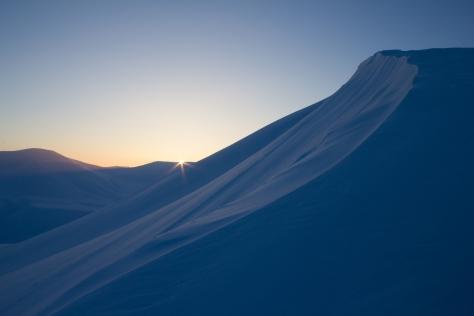 Svalbard_Trollsteinen_sunrise