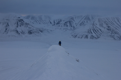 Svalbard_Trollsteinen2_Tom_ridge_ascent