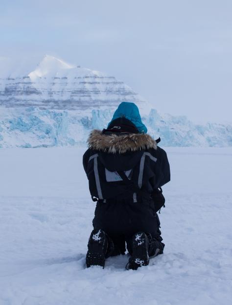 Svalbard_Tunabreen_Glacier_Prayer