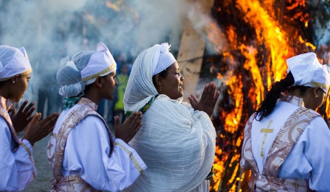 Faith and Fire: Ethiopia's Meskel Festival